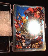 2014 Marvel Universe Parallel Sapphire Card Set