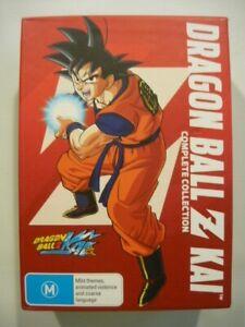 Dragon Ball Z Kai Complete Collection 16 DVD's Episodes 01-98 Slipcase Region 4