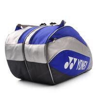 YONEX Tennis Badminton Bag Blue Racquet Racket Rucksack Shuttlecock NWT B1201BL