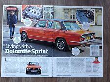 Triumph Dolomite Sprint  - Classic Test Article