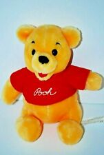 Vintage Winnie the Pooh Plush Bear Stuffed Animal Soft Toy Disney Small Canasa