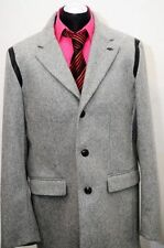 Button Wool Coats & Jackets for Men ARMANI