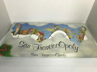 San Fransisco Opoly Vintage Board Game 1995 New Complete Monopoly