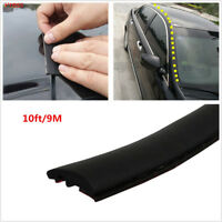 9m Dustproof Rubber Seal Car Front Rear Windshield Sunroof Edge Waterproof Strip
