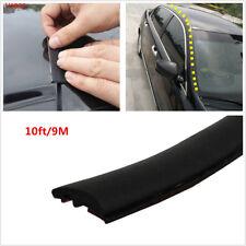 9m Dustproof Rubber Seal Car Front Rear Windshield Sunroof Edge Waterproof Strip