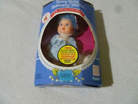 BOXED VINTAGE STRAWBERRY SHORTCAKE DOLL BERRY BABY BLUEBERRY MUFFIN KENNER 1984