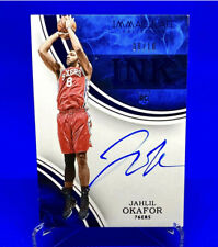 1 OF 1 JAHLIL OKAFOR 2015-16 Immaculate RC Rookie AUTO AUTOGRAPH DUKE Jersey # !