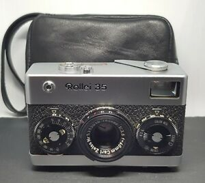 Rollei 35 Chrome Kamera - Made in Germany Nr. 3201792