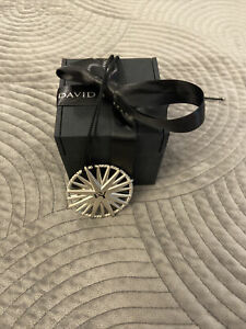 Authentic David Yurman Cable Loop Ring With 18K Gold- Size 5.5