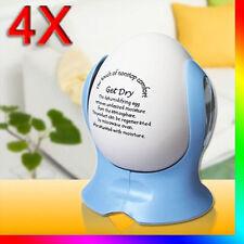 4x Egg Dehumidifier Ceramic Dehumidifying Home Car Wardrobe Air Dryer Reusable