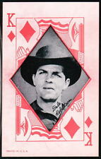 DALE ROBERTSON Diamond Western Aces Arcade Exhibit Card