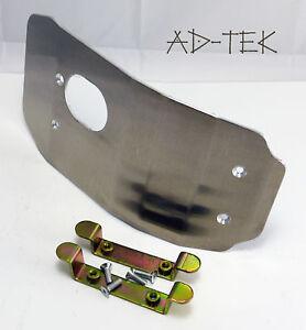 Suzuki RM250 MX Skid plate/sump guard  05/06/07/08/09