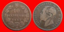 10 CENTESIMI 1862M ITALIA-18709