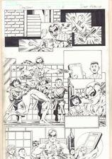 Deadpool #14 p.5 - Iron Fist - 2013 Signed art by Scott Koblish Comic Art