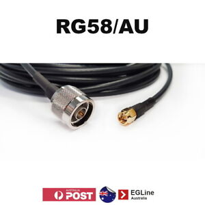 SMA male to N Type male RG58 A/U Coaxial Cable 50Ohm 4G LTE Antennas Patch Cable