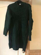 ASOS - Green chunky knit dress - Size 6