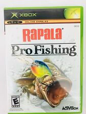 Rapala Pro Fishing (Microsoft Xbox, 2004) EUC Complete Case, Manual
