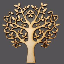 Tree Shapes Art Craft Family Christmas MDF SBT EXCLUSIVE Amazing Auntie 175mm
