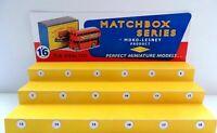 Matchbox Series Moko-Lesney / Display for Matchbox classic car/June