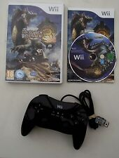 MONSTER HUNTER 3 PLUS CLASSIC CONTROLLER WII