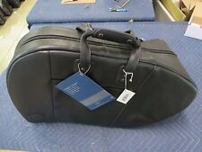Reunion Blues Clearance Sale, Black Leather French Horn Fixed Bell Bag 566-15-29
