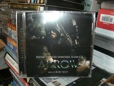 ARROW ,SEASON 6,TELEVISION SOUNDTRACK,WITH INSERT SIGNED BY BLAKE NEELY,LTD