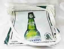 Rolling rock flag banner beer sign green light party 3/3 day breweriana