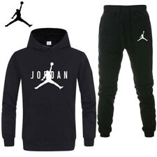 Herren Jordan Basketball Trainingsanzug Hoodie Sweatshirt Hose Jogginganzug DE