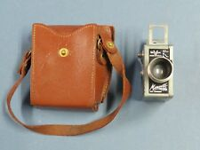 Vintage Universal Minute 16 Subminiature Mini Camera w/ Film and Leather Case