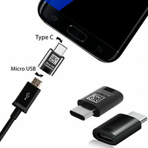 Fast USB-C To Micro Converter Charger Adapter For Galaxy S8 S9 S9+ Plus