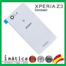 TAPA BATERIA TRASERA CRISTAL BLANCO BLANCA SONY XPERIA Z3 COMPACT D5803 D5833