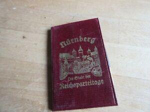 Deutscher Notizblock Nürnberg German Note Pad Wehrmacht WW2 WK2 WWII WH 1937 #5