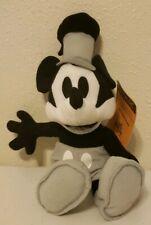 steamboat willie mickey mouse plush monocramatic toy factory nostalgic black