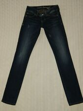 GUESS ― Womens Size 25 ― DAREDEVIL SKINNY LEG Dark Denim Jeans ― #AA15