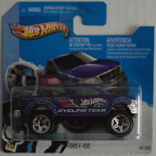 "Hot Wheels - ´97 / 1997 Ford F-150 Pickup blaumet. ""HW Cycling Team"" Neu/OVP"