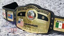 NWA DOME GLOBE World Heavyweight Wrestling Championship Belt   TV ACCURATE  