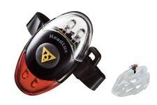 TOPEAK Headlux Helmet Light, Front / Rear Light 4-LED Helmet Mounted Bike Light