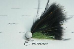 eliteflies 12 Competition marabou booby lures fly fishing flies trout lake