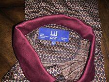 Dunhill Golf Nwot short sleeve Italy Mercerized Cotton M