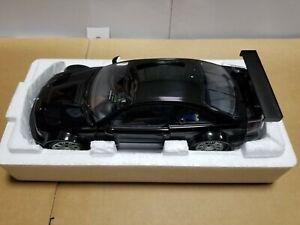 MINICHAMPS BMW M3 GTR 'STREET' 2001 BLACK 100 012105 1/18