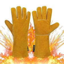 Welding Gloves Welders Gauntlets For Bbq Oven Tig Mig Soldering Gloves