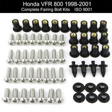 Motorcycle Fairing Bolts Screws Fasteners Kit For HONDA VFR800 1998-2007 VFR800
