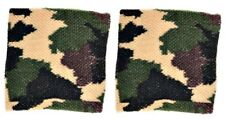 Schweißband Sport Wristband Fitnessband Armband Tennisarmband Camouflage Militär