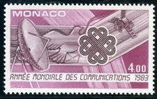 STAMP / TIMBRE DE MONACO N° 1373 ** ANNEE MONDIALE DES COMMUNICATIONS