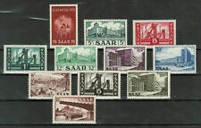 SAAR - Lot of 11 stamps, NEVER USED