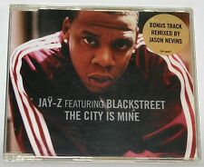Jay-Z feat. Blackstreet - The City Is Mine - neuwertige Maxi CD mit Bonus Track