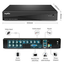 SANNCE HD 8CH CCTV 1080P HDMI DVR recorder for Home Security Camera System ONVIF