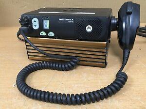 Motorola CM140 Two Way Radio Transceiver + Mains Power Pack Module