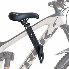 Shotgun Kids Bike Seat Front Mounted for Children 2-5 Years up to 48 Pounds