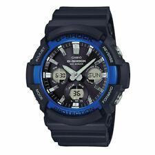 Casio G-Shock Ana-Digital Tough Solar LED Black IP Bezel Watch GAS100B-1A2